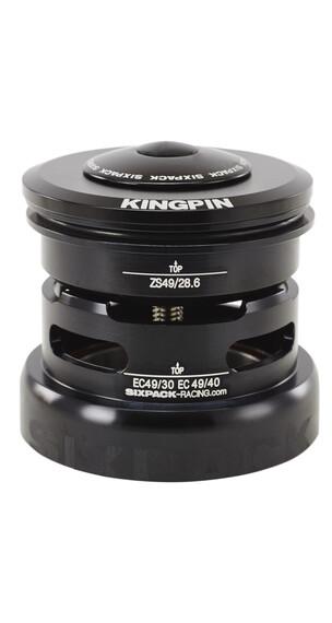 Sixpack Kingpin 2in1 Styrlager semi integrerat ZS49/28.6 I EC49/40 svart